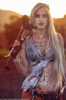 Psycho from Borderlands cosplay by MissHatred by JessicaMissHatred