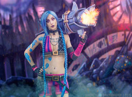 Jinx-League of Legends Cosplay by MissHatred by JessicaMissHatred