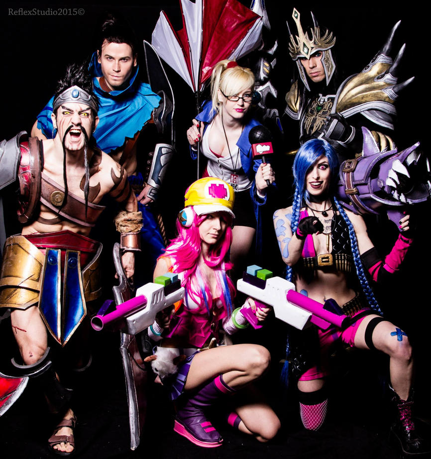 League of Legends Cosplay Group