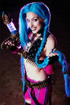 Jinx - League of Legends Cosplay by MissHatred