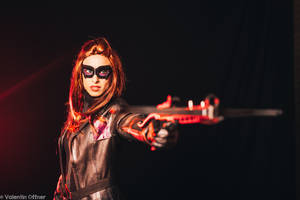 Huntress from Arrow cosplay by MissHatred