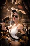 Sonya Blade Mortal Kombat IX Cosplay by MissHatred