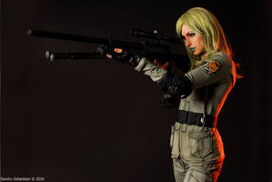 Sniper Wolf from Metal Gear Solid by MissHatred