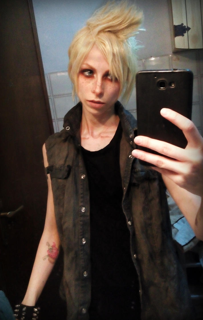 prompto final fantasy xv cosplay misshatred by jessicamisshatred on