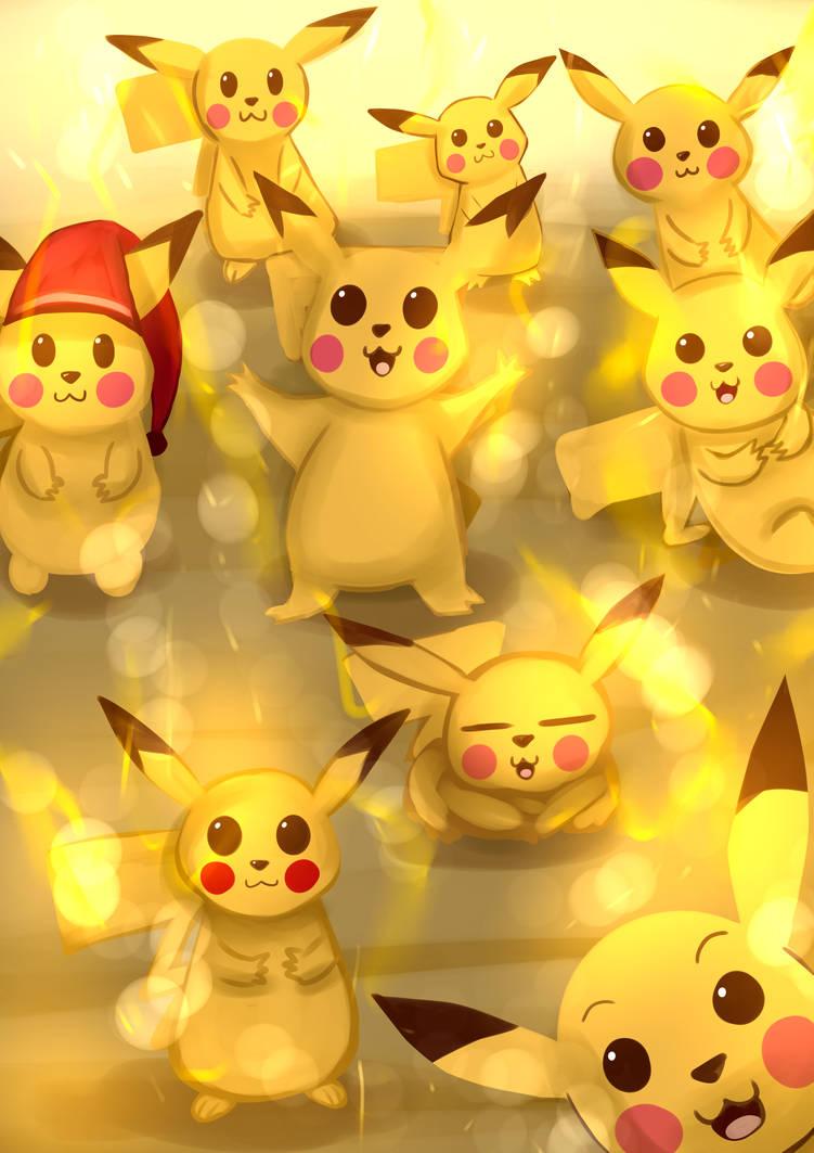 Pikachu - 2018 by Pokefuturemarsh