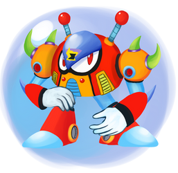 Bubble Crab - Megaman X2 Maverick by Pokefuturemarsh