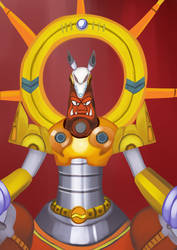 Godkarmachine O Inary - Megaman X3 by Pokefuturemarsh