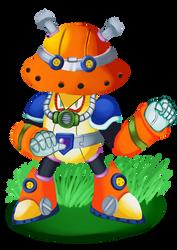 Split Mushroom - Megaman X4 Maverick by Pokefuturemarsh
