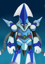 Squid Adler/Volt Kraken - Megaman X5 M.Infected by Pokefuturemarsh