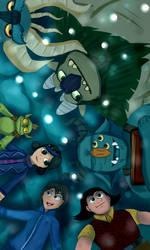 Trollhunters - A Team by Pokefuturemarsh