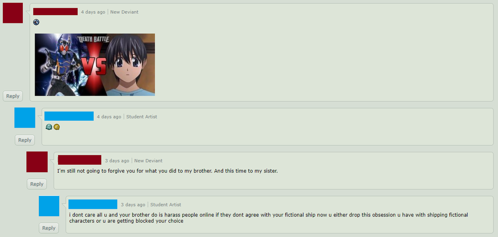 Guy With Different Account And Bully A Victim 2 Ce by Pichu-Chan05