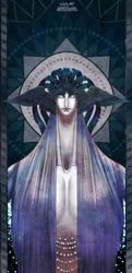 ANK OC: Nebthaui-elder 01 by Sensitive-Sirin