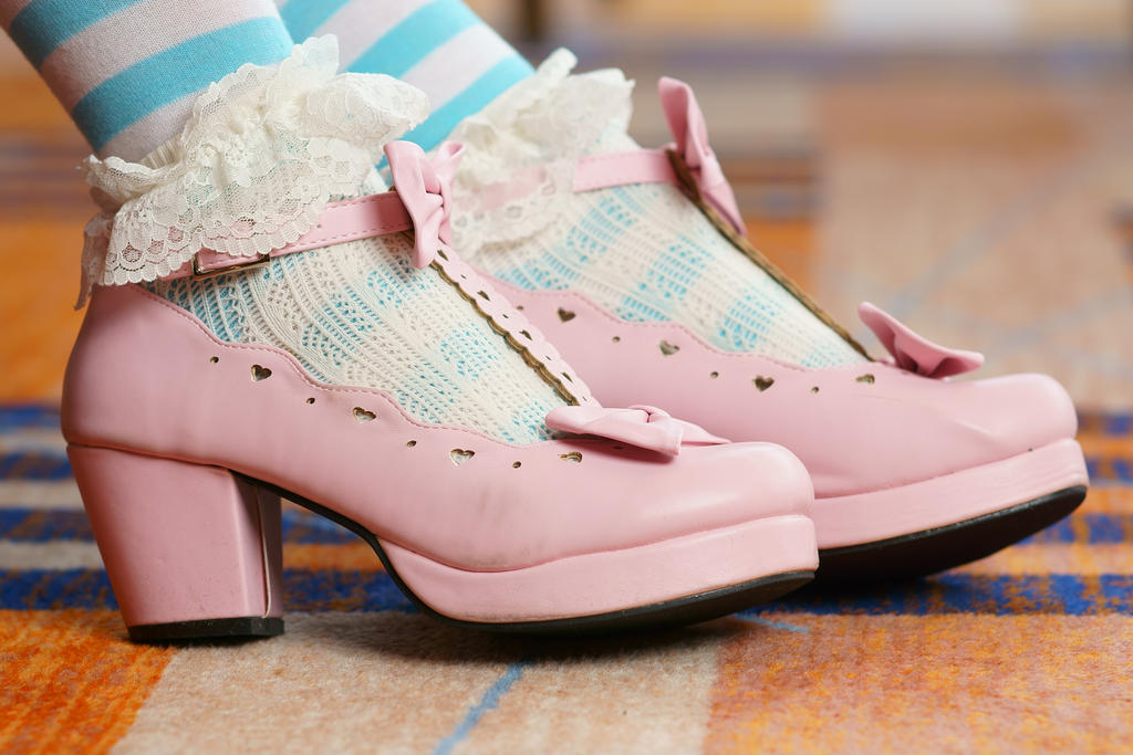 Pink Shoes by NotSoProPhoto