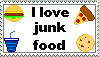 I love junk food stamp by TheBullTerrier