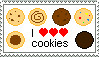 I REALLY Love Cookies Stamp by TheBullTerrier
