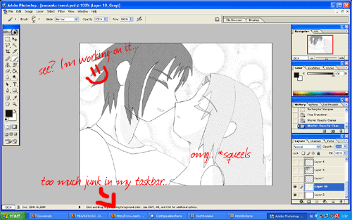 SasuSaku: screenshot by Keoni-chan