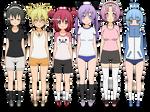 Scorching Ping Pong Girls - Kisekae