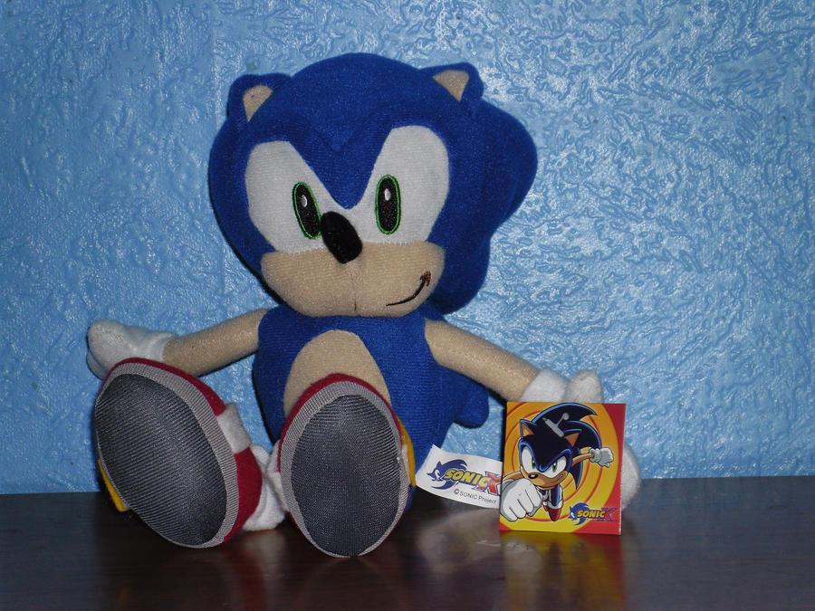 Sonic The Hedgehog Plush by DarkGamer2011