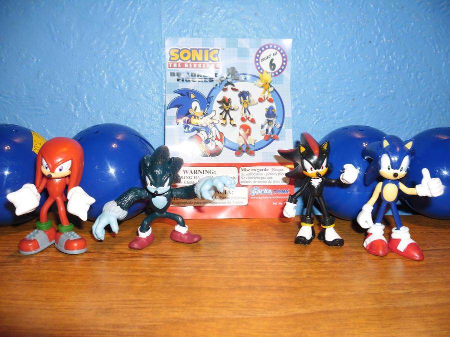 Target Sonic Toys : Sonic capsule figures by darkgamer on deviantart