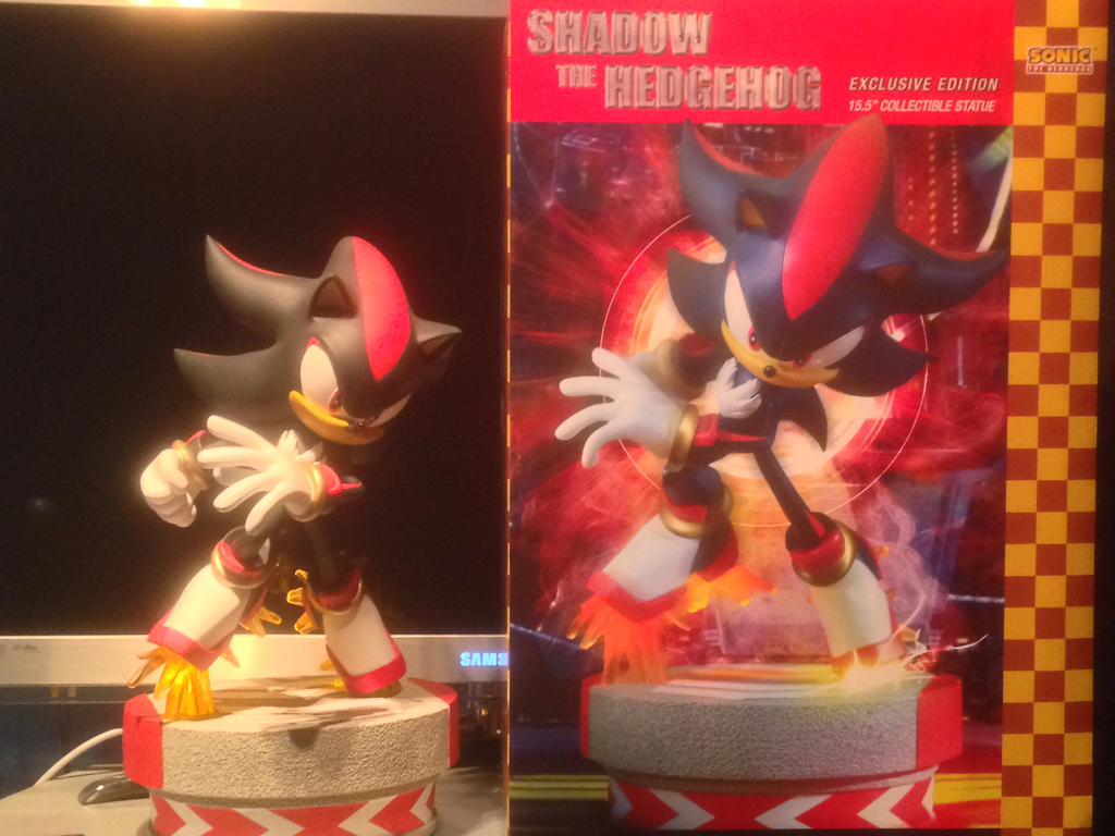 First4Figures Shadow The Hedgehog Exclusive Statue by ...