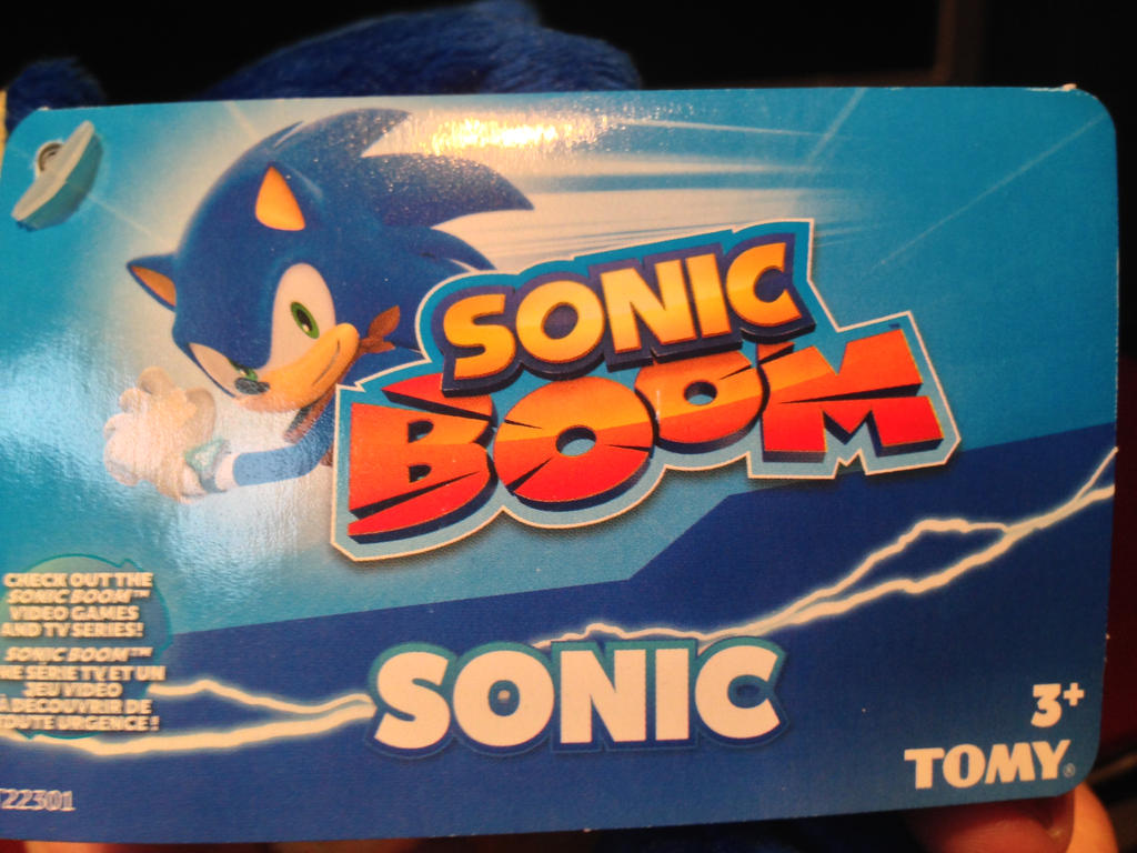 SONIC BOOM Sonic and Tails plush video review by DarkGamer2011