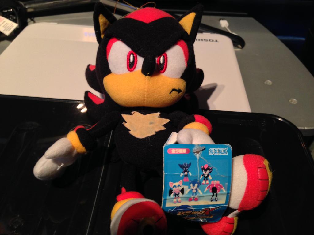 Shadow The Hedgehog Sonic X Vol 2 JAP Plush Review by DarkGamer2011