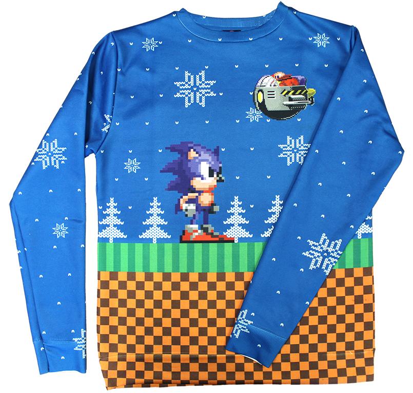 Sonic Xmas Jumper by DarkGamer2011