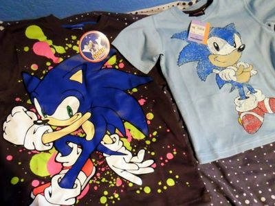 Sonic The Hedgehog Clothes Collection Review By Darkgamer2011 On Deviantart