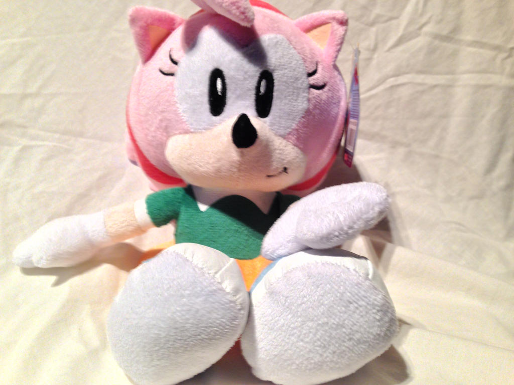 PMS Classic Amy Rose Plush Review by DarkGamer2011