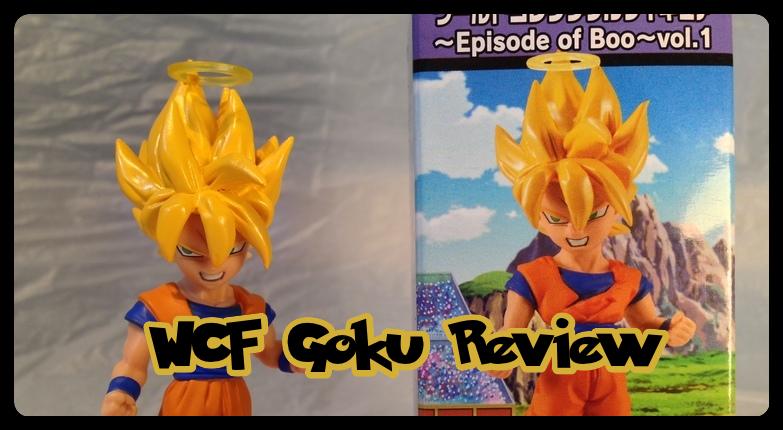 Super Saiyan Goku Mini 004 WCF Series Review by DarkGamer2011