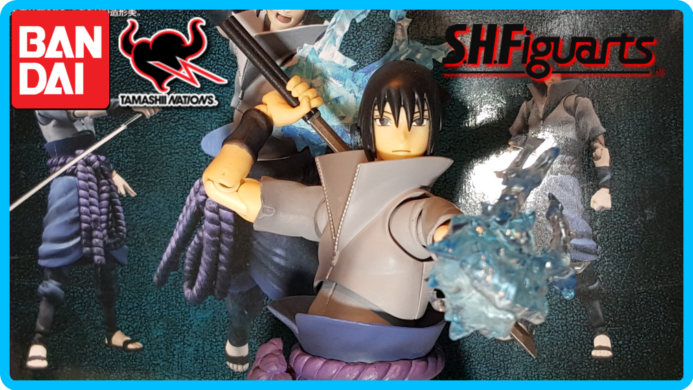 Sasuke Uchiha S.H Figuarts Figure Review. by DarkGamer2011