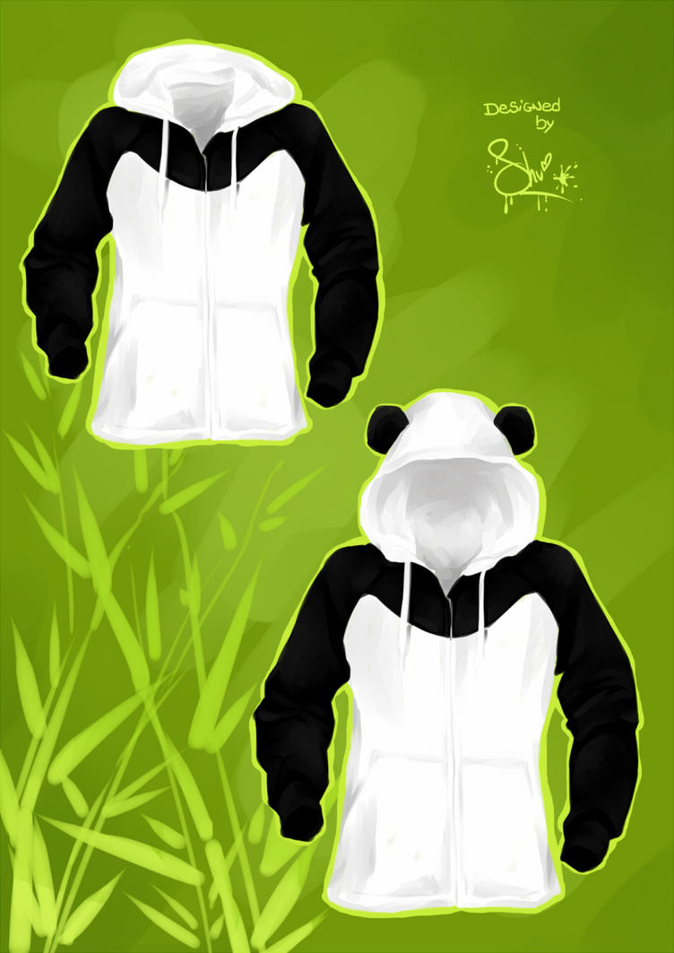 Panda Sweat by lilpunky