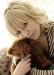 With Teddy Bear