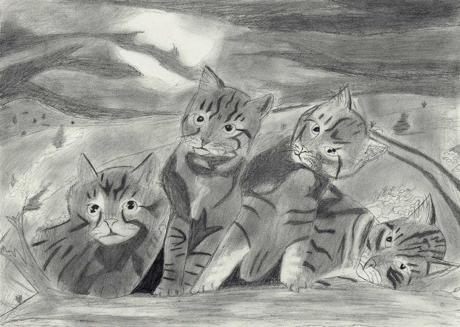 Cats by Lagnil