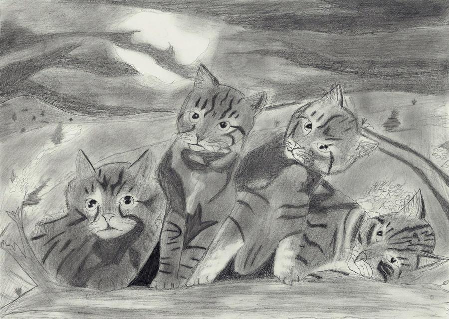 Cats by Lagnil