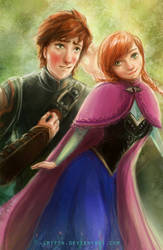 Hiccup x Anna by smitth