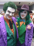 Joker and Female Joker Ohayocon 2014