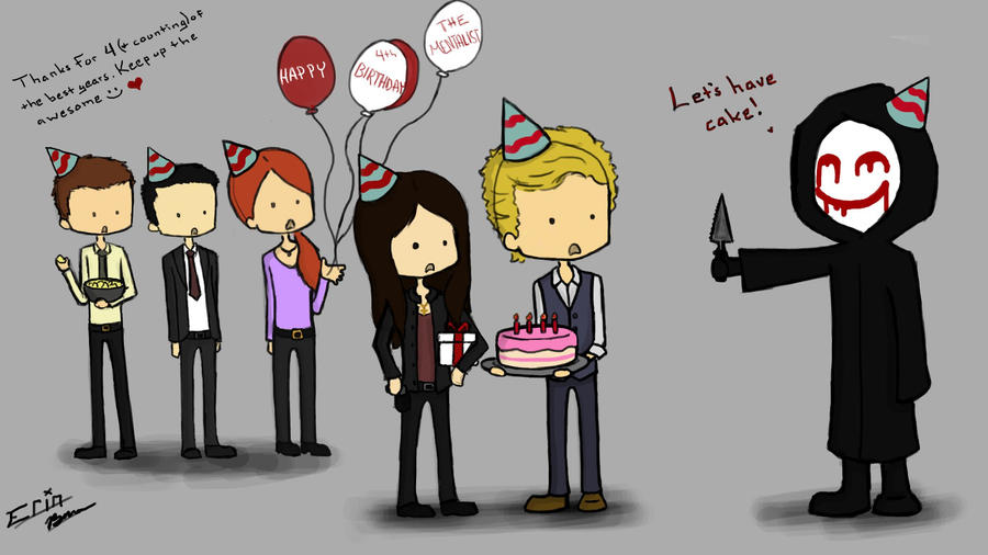 Happy 4th Birthday, The Mentalist! by everrinn