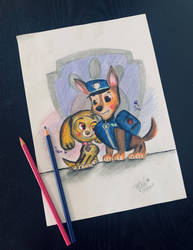 Chase and Skye: PAW patrol