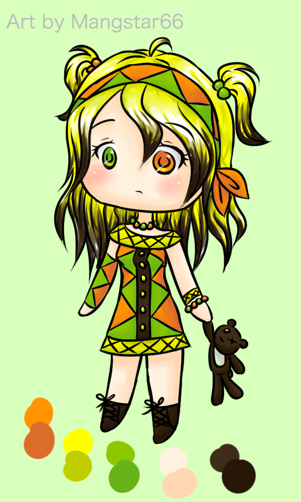 Adoptable Chibi #2 - {CLOSED} by Mangastar66