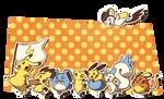 Pikachu Ripoff Conga Line