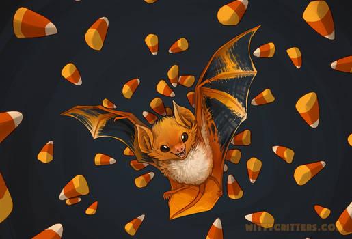 Candy Corn Bat