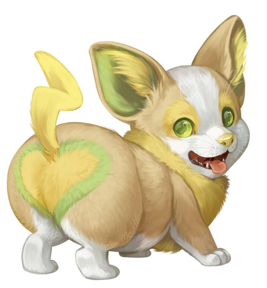 Champer the Yamper by Mewitti