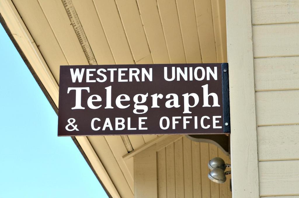 Western Union Telegraph Sign by BigBadMatt