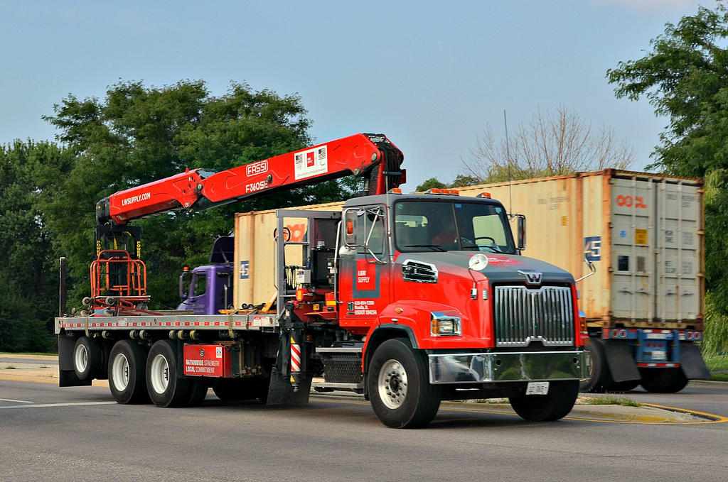 Western Star Building Supply Truck by BigBadMatt