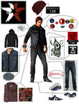 Delsin Rowe Outfit Broken Down New Organized