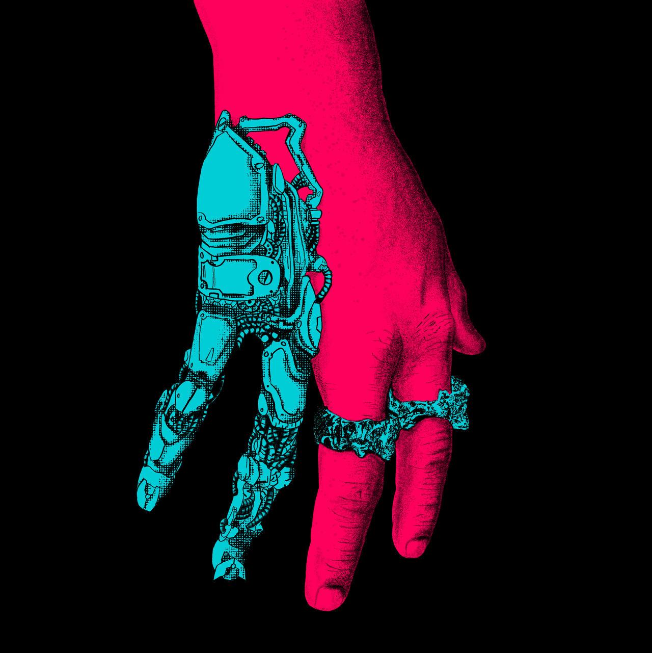 Cyberpunk hand