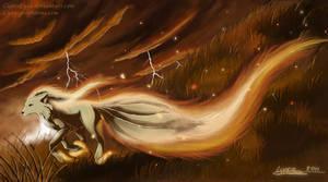 Ninetales by ClaireLyxa