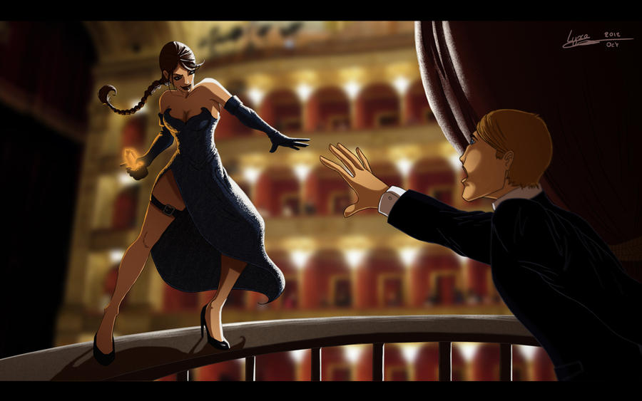 Lara Croft Opera Rome by ClaireLyxa