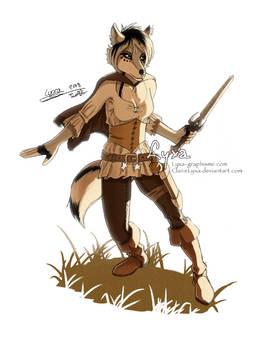AT Eternal - wolf warrior